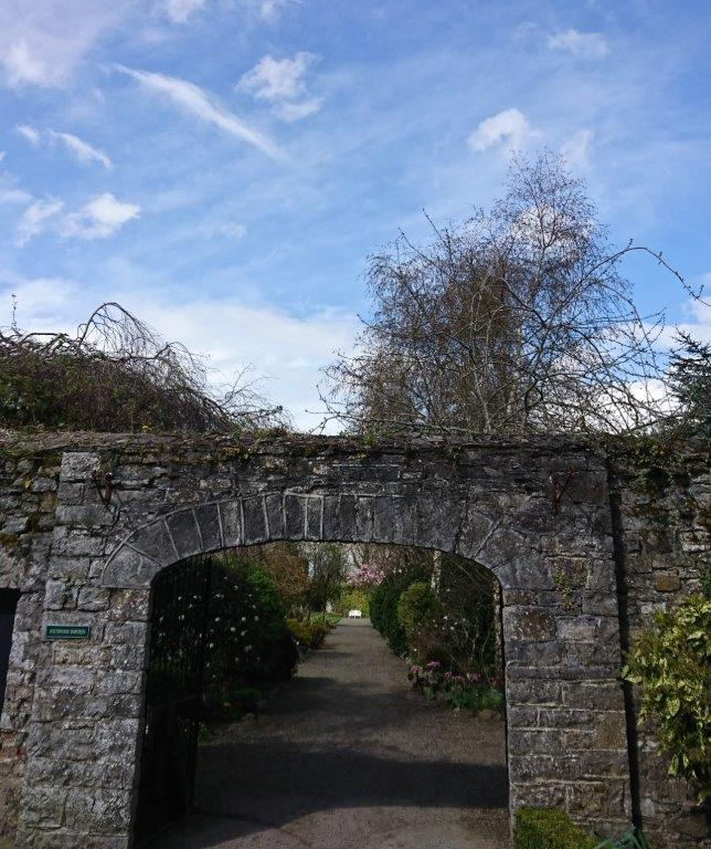 Leixlip Manor Garden Kildare Entrance