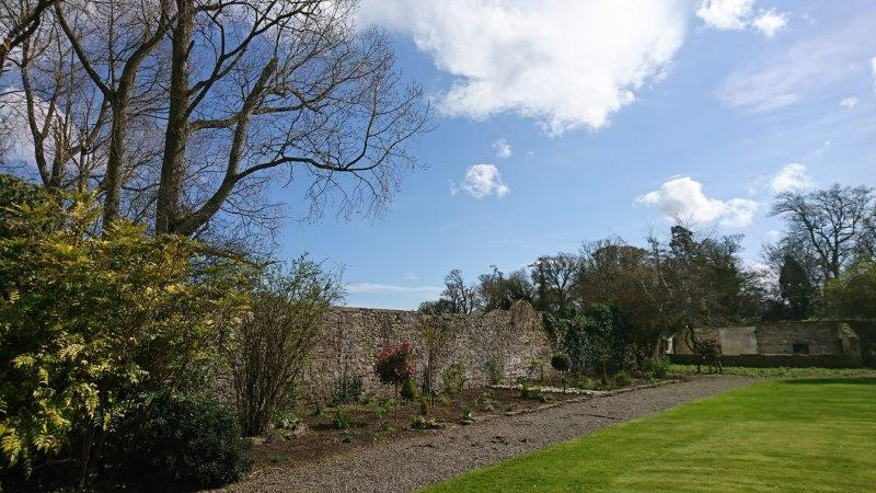 Gardens at the Leixlip Manor Kildare