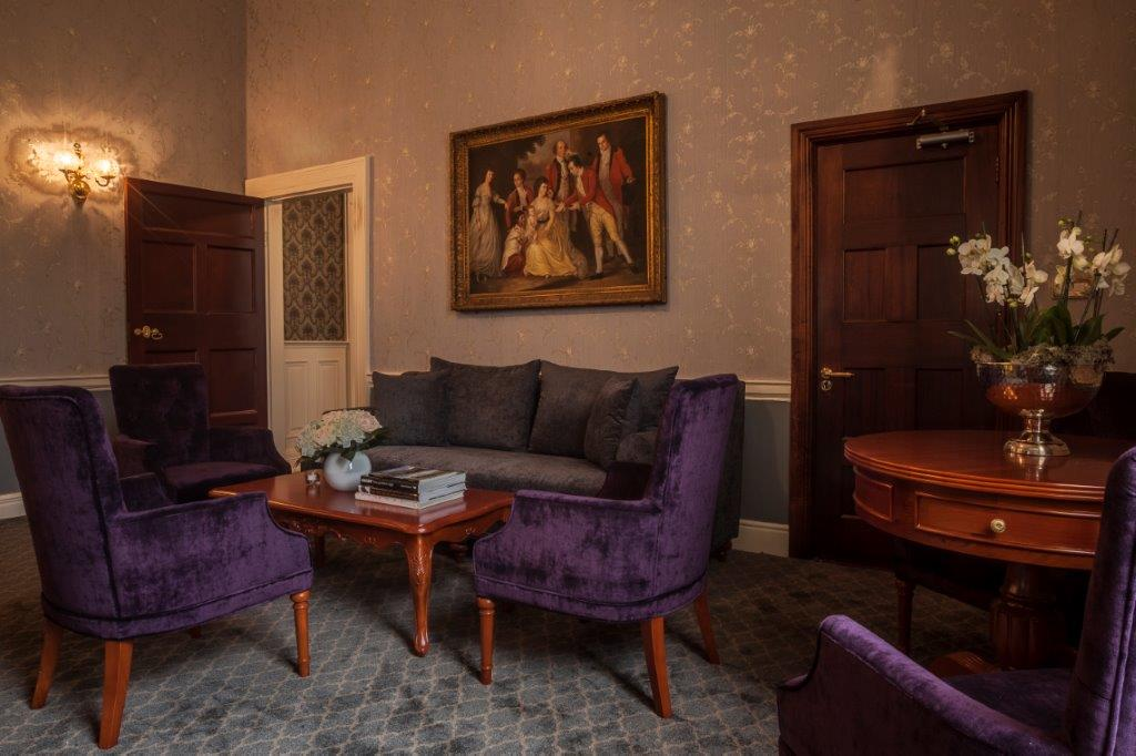 Drawing room Leixlip Manor Hotel