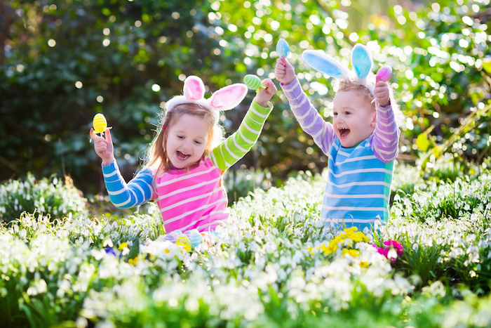 Easter Egg Hunt at The Manor